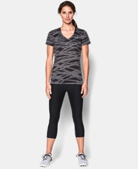 Women's UA Tech™ Print T-Shirt  4 Colors $16.99 to $20.99