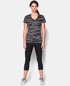 Women's UA Tech™ Print T-Shirt  3 Colors $16.99 to $20.99