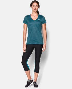 Women's UA Tech™ Print T-Shirt  5 Colors $16.99 to $20.99
