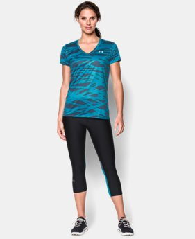 Women's UA Tech™ Print T-Shirt  2 Colors $16.99 to $20.99