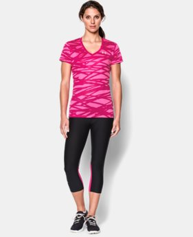 Women's UA Tech™ Print T-Shirt  1 Color $16.99 to $20.99