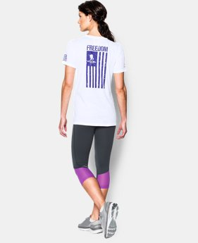 Women's UA Freedom Flag T-Shirt  1 Color $29.99