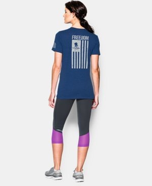 Women's UA Freedom Flag T-Shirt  2 Colors $29.99