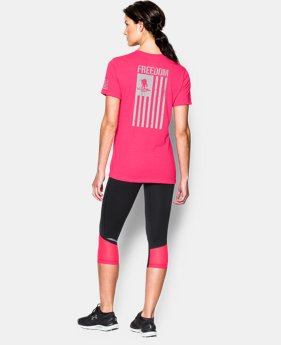 Women's UA Freedom Flag T-Shirt   $29.99