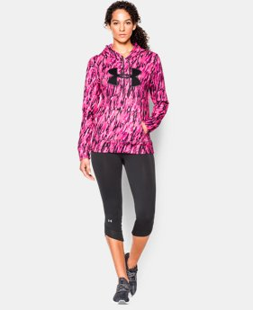 Women's UA Power In Pink® Armour® Fleece Big Logo Hoodie LIMITED TIME: FREE U.S. SHIPPING 1 Color $33.74
