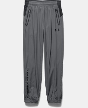 Boys' UA Storm Evaporate Woven Pants