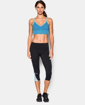 Women's UA HeatGear® Armour Seamless Heather w/Cups