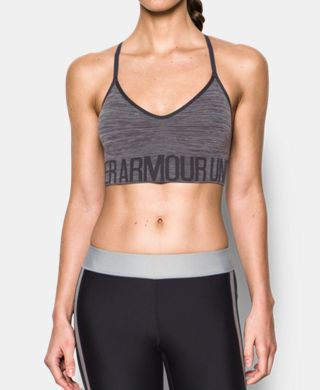 Women's UA HeatGear® Armour Seamless Streaky Heather  Low-Impact w/Cups