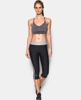 Women's UA HeatGear® Armour Seamless Streaky Heather w/Cups  1 Color $34.99