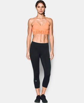 Women's UA HeatGear® Armour Seamless Streaky Heather w/Cups   $39.99
