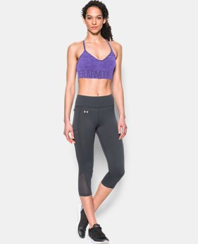 Women's UA HeatGear® Armour Seamless Streaky Heather w/Cups