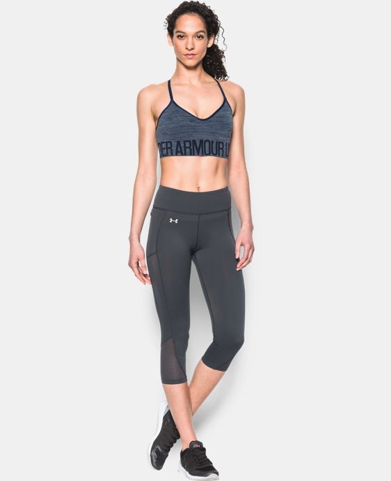 Women's UA HeatGear® Armour Seamless Streaky Heather w/Cups  1 Color $22.49