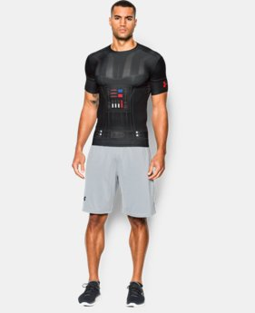 New Arrival   Men's Star Wars UA Vader Compression Shirt   $69.99