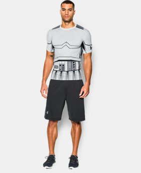 New Arrival   Men's Star Wars UA Trooper Compression Shirt LIMITED TIME: FREE SHIPPING 1 Color $69.99