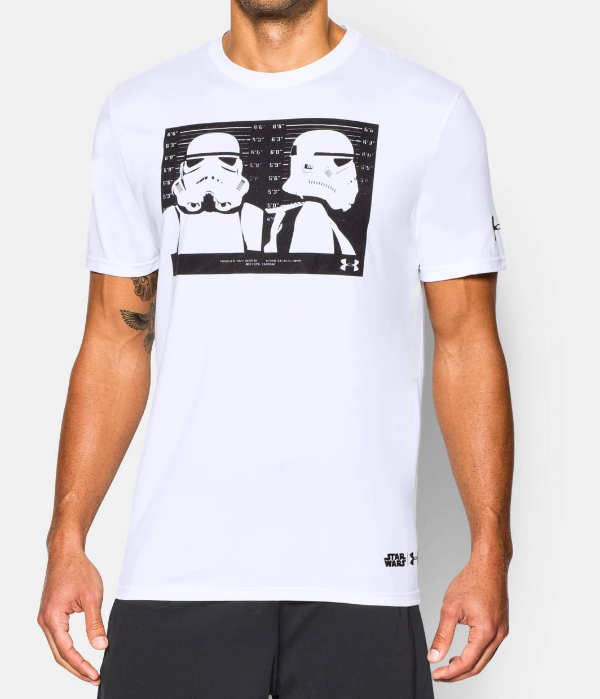 Men S Star Wars Ua Trooper T Shirt Under Armour Us