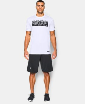 New Arrival  Men's Star Wars UA Jedi Mantra T-Shirt  1 Color $39.99