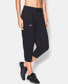 Women's UA Tech™ Capris LIMITED TIME OFFER 1 Color $27.99