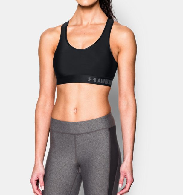 Sale Online Free Shipping Best Wholesale Under Armour Women's Armour Mid Mesh Back Sports Bra Countdown Package Outlet Big Sale Discount How Much 5m8vd
