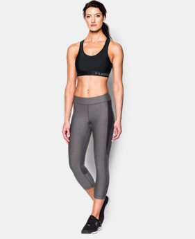 Best Seller Women's Armour® Mid Sports Bra  5 Colors $24.99