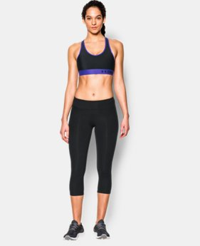 New to Outlet Women's Armour Mid Sports Bra  5 Colors $18.99