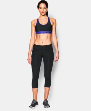 Women's Armour® Mid Sports Bra LIMITED TIME: FREE U.S. SHIPPING 15 Colors $11.24 to $18.99