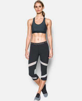 Women's Armour Mid Sports Bra  9 Colors $24.99
