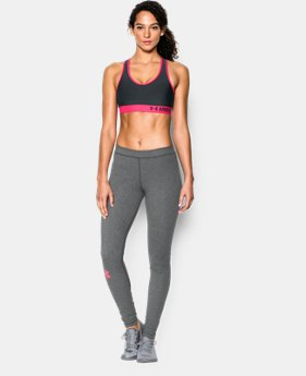 New to Outlet Women's Armour Mid Sports Bra  1 Color $18.99