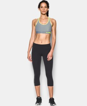 Women's Armour Mid Sports Bra  3 Colors $29.99