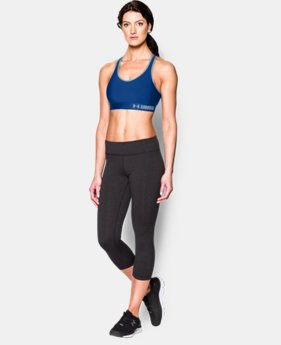 Women's Armour® Mid Sports Bra  1  Color Available $17.99 to $22.49