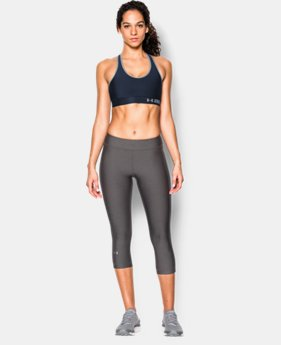 Women's Armour Mid Sports Bra  8 Colors $24.99