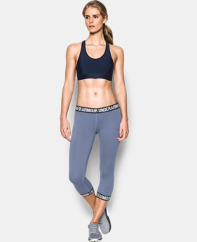 Women's Armour Mid Sports Bra  4 Colors $29.99
