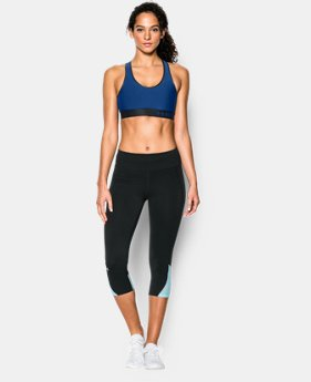 Women's Armour Mid Sports Bra  1 Color $17.24 to $22.99