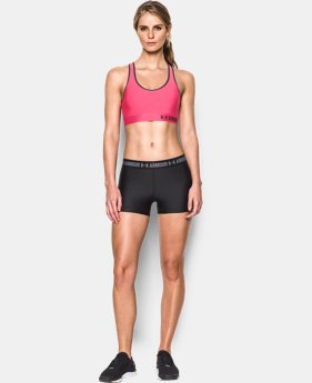 Women's Armour® Mid Sports Bra LIMITED TIME: FREE U.S. SHIPPING 3 Colors $11.24 to $18.99