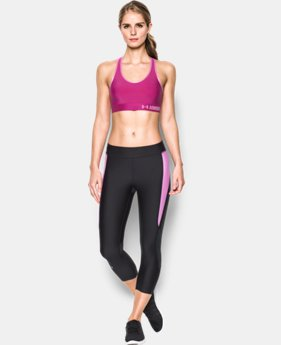 Women's Armour Mid Sports Bra  4 Colors $24.99