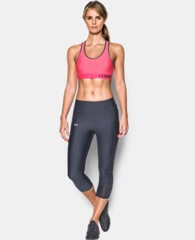 Best Seller Women's Armour® Mid Sports Bra  4 Colors $17.49 to $18.74