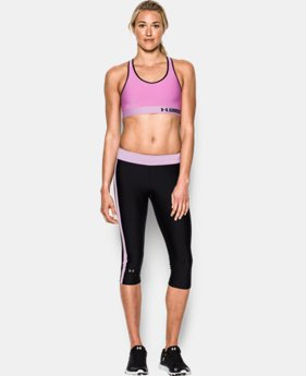 Best Seller Women's Armour Mid Sports Bra  2 Colors $24.99