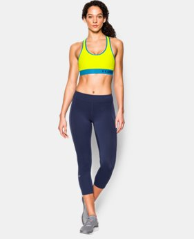 New to Outlet Women's Armour Mid Sports Bra  2 Colors $18.99