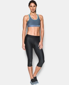 Best Seller Women's Armour® Mid Sports Bra LIMITED TIME: FREE U.S. SHIPPING 1 Color $24.99