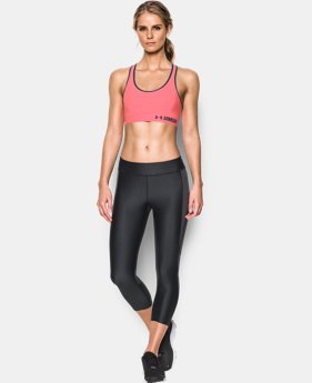 Women's Armour® Mid Sports Bra LIMITED TIME: FREE SHIPPING 4 Colors $17.24 to $22.99
