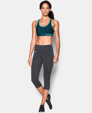 Women's Armour® Mid Sports Bra LIMITED TIME: FREE SHIPPING 6 Colors $17.24 to $22.99