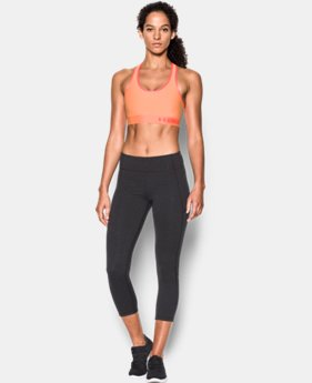 Women's Armour® Mid Sports Bra LIMITED TIME: FREE U.S. SHIPPING 2 Colors $14.24 to $18.99