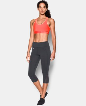 Women's Armour Mid Sports Bra   $29.99