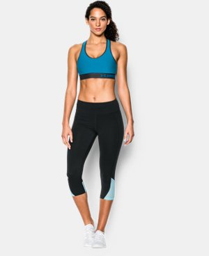 New Arrival  Women's Armour® Mid Sports Bra  2 Colors $29.99