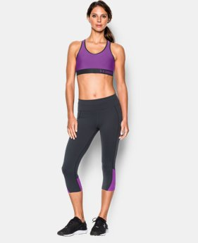Women's Armour Mid Sports Bra  1 Color $13.49 to $17.24