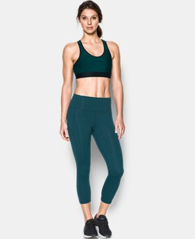 Best Seller Women's Armour® Mid Sports Bra  2  Colors Available $14.99 to $20.99