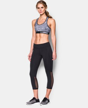 New to Outlet Women's UA HeatGear® Armour Printed Mid  5 Colors $17.99 to $22.99