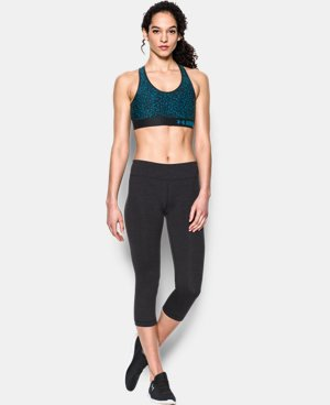 Women's Armour® Mid – Printed Sports Bra LIMITED TIME: FREE SHIPPING 9 Colors $20.24 to $34.99