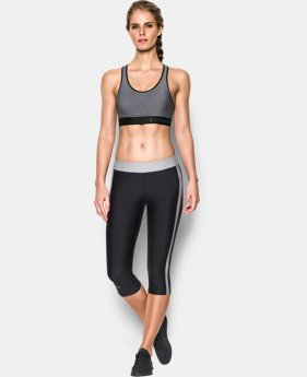 Women's UA HeatGear® Armour Printed Mid  3 Colors $34.99