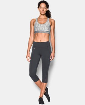 Women's Armour® Mid – Printed Sports Bra LIMITED TIME: FREE SHIPPING 1 Color $20.24 to $34.99