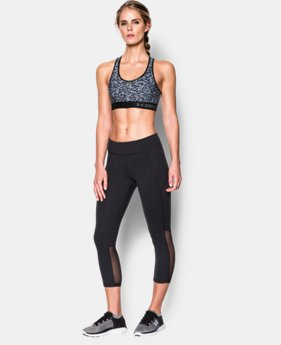 New to Outlet Women's Armour® Mid – Printed Sports Bra LIMITED TIME: FREE U.S. SHIPPING 1 Color $13.49 to $22.99